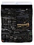 Starships... Duvet Cover