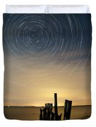 Startrails 2 Duvet Cover