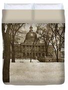 State Building Boston Massachusetts Circa 1900 Duvet Cover