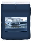 State Capital Fountain Duvet Cover