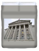 State Capitol Madison Wisconsin Duvet Cover