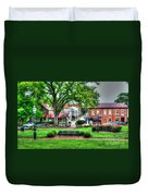 State House Grounds Duvet Cover