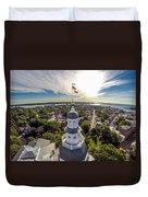 State House Beauty Over Annapolis Duvet Cover