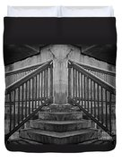 State Street Stairs Duvet Cover
