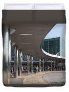 Staten Island Terminal Duvet Cover