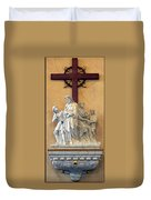 Station Of The Cross 01 Duvet Cover