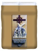 Station Of The Cross 06 Duvet Cover