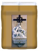Station Of The Cross 07 Duvet Cover