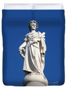 Statue Gettysburg Duvet Cover