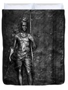 Statue Of Lord Sri Ram Duvet Cover