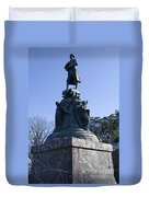 Statue Of Thomas Jefferson Duvet Cover