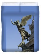 Statue On The Tomb Of The Unknown Soldier Duvet Cover