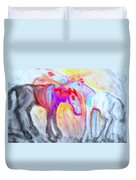 We Will Be Staying Alive Forever And Never Split Up Or Die  Duvet Cover