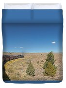 Steam Engine 489 At The Lava Tank On The Cumbres And Toltec Scenic Railroad Duvet Cover