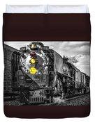Steam Engine 844 Duvet Cover