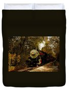 Steam Engine No. 300 Duvet Cover by Robert Frederick