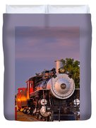 Steam Engine Number 509 Duvet Cover