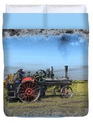 Steam Farming Duvet Cover