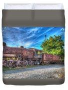 Steam Locomotive No 1151 Norfolk And Western Class M2c Duvet Cover