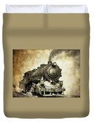 Steam Locomotive No. 334 Duvet Cover