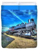 Steam Locomotive No 4 Virginian Class Sa  Duvet Cover