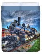 Steam Locomotive No 6 Norfolk And Western  Duvet Cover
