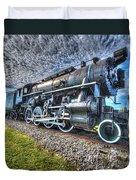 Steam Locomotive No 606 Duvet Cover