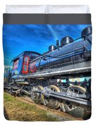 Steam Locomotive Virginian Class Sa No 4 Duvet Cover