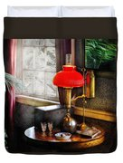 Steam Punk - Victorian Suite Duvet Cover by Mike Savad