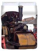 Steam Roller Duvet Cover