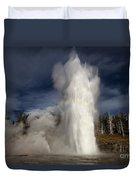Steam Tower Duvet Cover