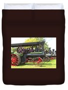 Steam Tractor Line-up Duvet Cover