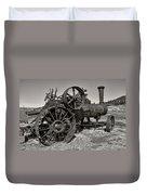 Steam Tractor - Molson Ghost Town Duvet Cover