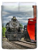 Steam Train Tr3637-13 Duvet Cover