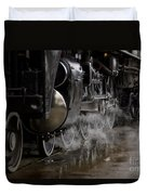 Steam Wheels Duvet Cover