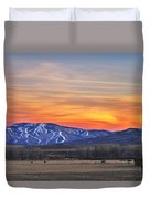 Steamboat Alpenglow Duvet Cover
