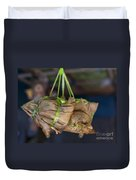 Steamed Food Parcels Duvet Cover