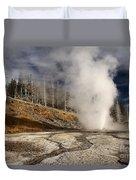 Steaming Streams Duvet Cover