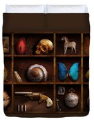 Steampunk - A Box Of Curiosities Duvet Cover