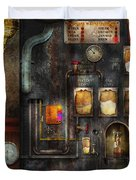 Steampunk - All That For A Cup Of Coffee Duvet Cover