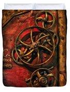 Steampunk - Clockwork Duvet Cover