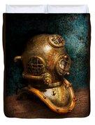 Steampunk - Diving - The Diving Helmet Duvet Cover