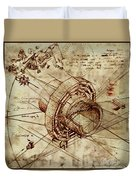 Steampunk Dream Series Iv Duvet Cover