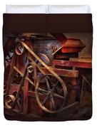 Steampunk - Gear - Belts And Wheels  Duvet Cover