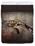 Steampunk - Gun - The Sidearm Duvet Cover