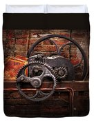 Steampunk - No 10 Duvet Cover by Mike Savad