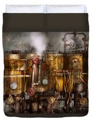 Steampunk - Plumbing - Distilation Apparatus  Duvet Cover