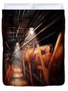 Steampunk - Plumbing - The Hallway Duvet Cover