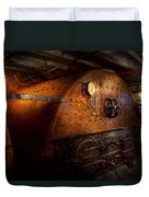 Steampunk - Plumbing - The Home Of A Stoker  Duvet Cover