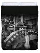 Steampunk - Runs Like Clockwork Duvet Cover